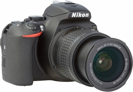 NIKON D5600 with AF-P DX NIKKOR 18-55 mm 1:3,5-5,6G VR