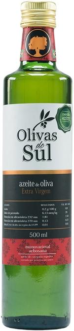 OLIVAS DO SUL Azeite de Oliva Extravirgem 500ml