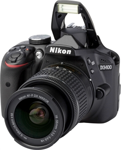 NIKON D3400  with AF-P DX 18-55 mm 1:3,5-5,6G VR