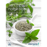 E-book: Temperos Naturais